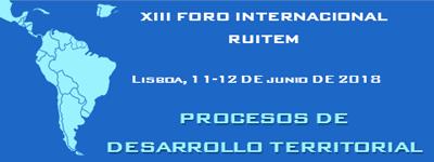 XIV Asamblea y XIII Foro Internacional RUITEM en Lisboa 2018